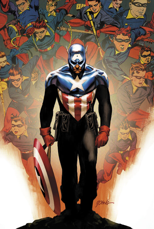 CAPTAIN AMERICA #50. Written by ED BRUBAKER Pencils by LUKE ROSS Cover by