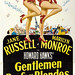 Gentlemen Prefer Blondes Three Sheet Poster