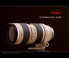My New Lens `` (Faisal | Photography) Tags: new black macro canon lens photography eos is image zoom background 100mm ali saudi l usm luxury 2009 f28 ef faisal 70200mm 128 stabilizer 50d my ulrasonic