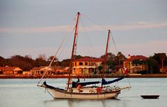 sailboat off St Augustine (Steve from NJ) Tags: 15fav st sailboat bay boat florida augustine aplusphoto platinumheartaward