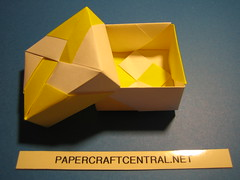Origami Box - Wheel (PaperCraftCentral_dot_net) Tags: origami box tomoko fuse paperbox tomokofuse origamibox