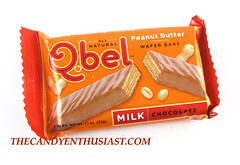 Q.bel Peanut Butter Wafer Bar Package