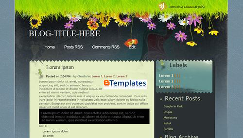 নিয়ে নিন আপনার Blog এর জন্য template Mediafire link