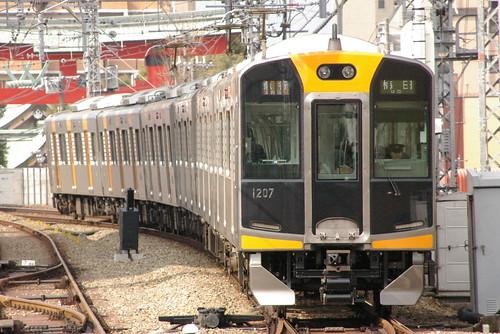Hanshin1000series in Amagasaki(Hanshin),Amagasaki,Hyōgo,Japan 2009/2/14