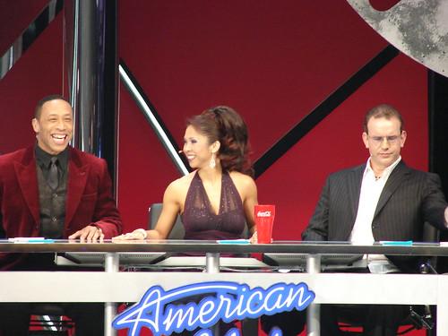 Idol judges. Photo by Mark Goldhaber.
