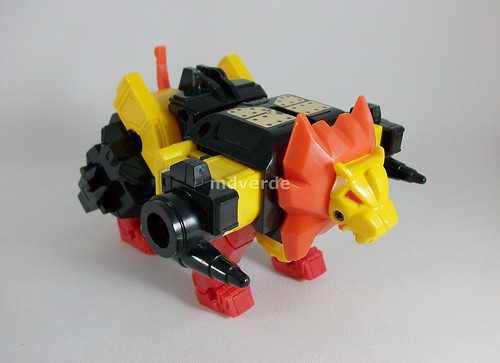 Transformers Razorclaw G1 - modo alterno (by mdverde)
