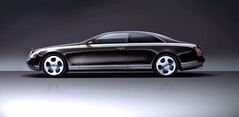 Maybach coupe limousine concept (Oli4K) Tags: auto car driving doors automotive concept limosine coupe conceptcar maybach chauffeur exelero