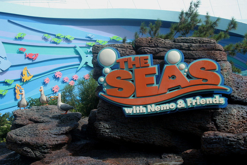 Marvelous In December of Disney started re theming The Living Seas into a new pavilion based on the recently released Pixar film Finding Nemo