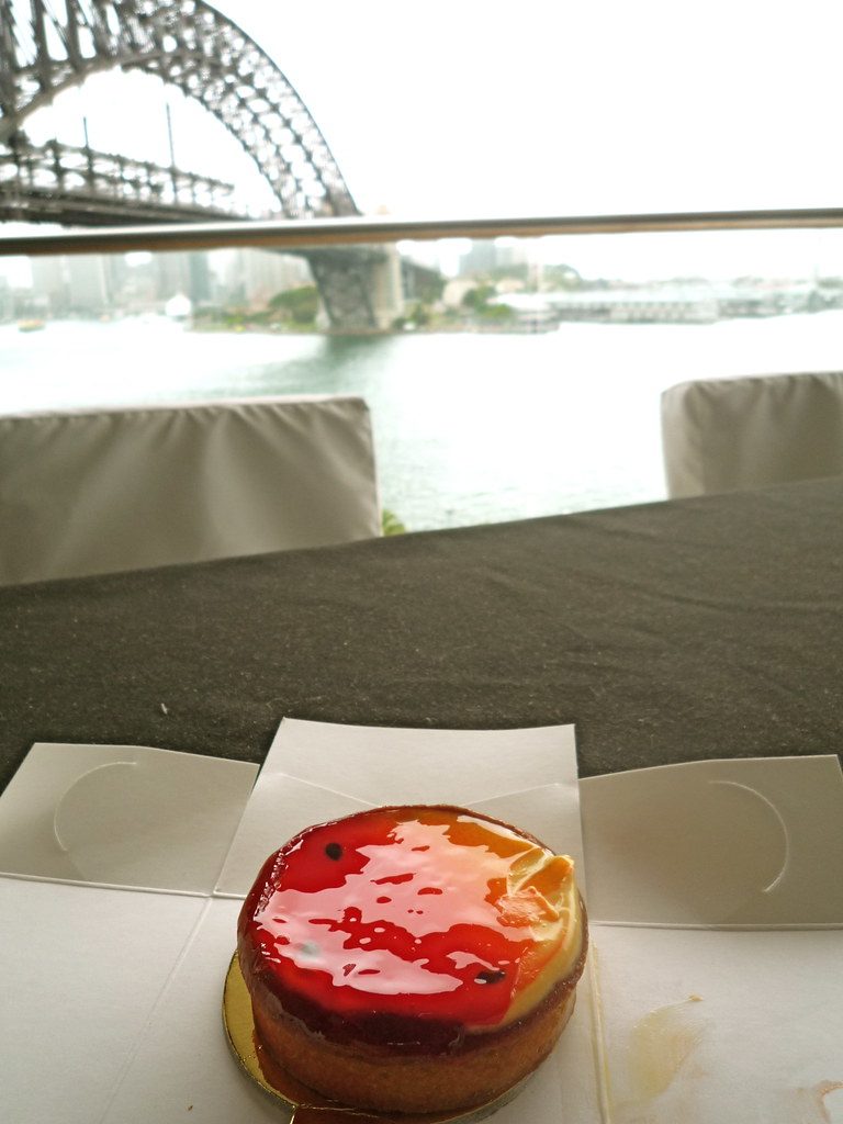Zumbo passion fruit tart