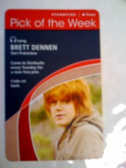 Starbucks iTunes Pick of the Week - Brett Dennen - San Francisco