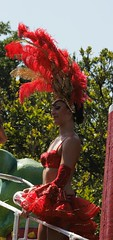 Carnaval Merida 2009 Chica de Rojo