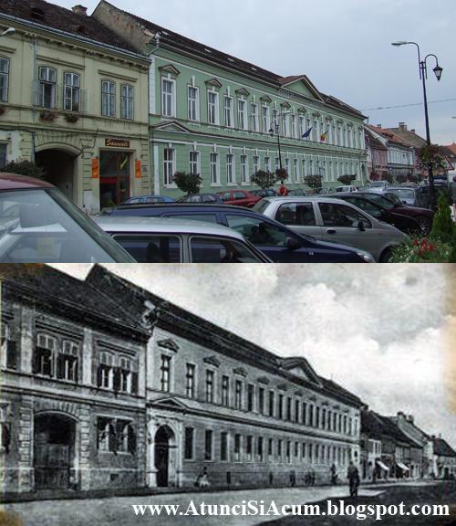 Sighisoara - Liceul Roman Mircea Eliade