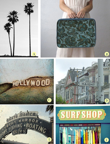 Guest post Jenn Wallace- Cali inspiration from etsy