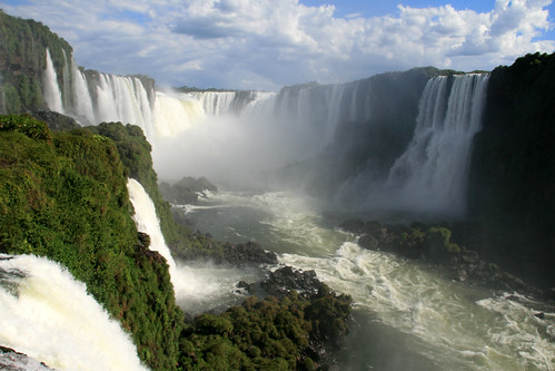 nature waterfalls Foz do Iguaçu Brazil Paraná