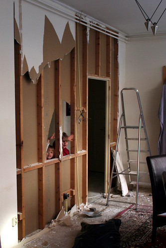 Dining Room Demolition - Half-way Through
