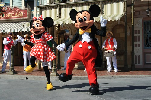 Celebration Band featuring Mickey and Minnie Mouse