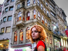 Glow! (Faddoush) Tags: portrait woman nikon glow monalisa istanbul colourful hdr pera mysterygirl taxim colorphotoaward faddoush