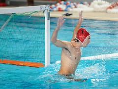 0903279282 (Kostas Kolokythas Photography) Tags: men water greece polo 2009 aquatics paok vouliagmeni 18 1