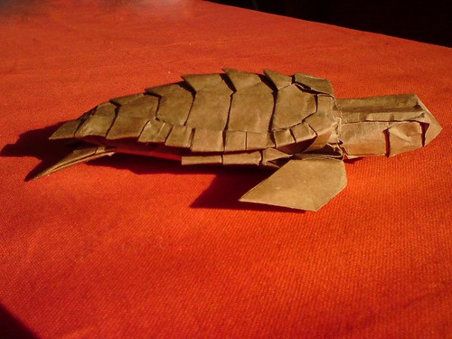 Origami Turtle Diagram Diagram Origami Tanteidan