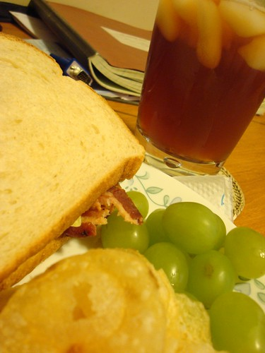 BLT and Iced Tea