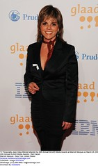 TV Personality Jane Velez-Mitchell attends the 20th Annual GLAAD Media Awards at Marriott Marquis on March 28, 2009 in New York City. (GLAAD) Tags: gay ny newyork lesbian unitedstates transgender bi glaad glaadblognewyorknyunitedstates