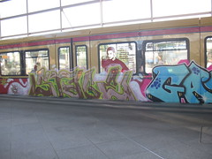 IMG_1631 (albyantoniazzi) Tags: city travel berlin train germany graffiti stage gas bahn berlino