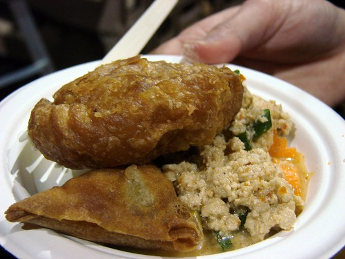Am Thai's Laab, Curry Puff, & Jade Dumpling