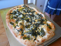 Kale Lovers' Pizza