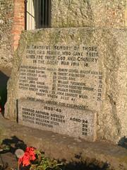 Strumpshaw War Memorial 2