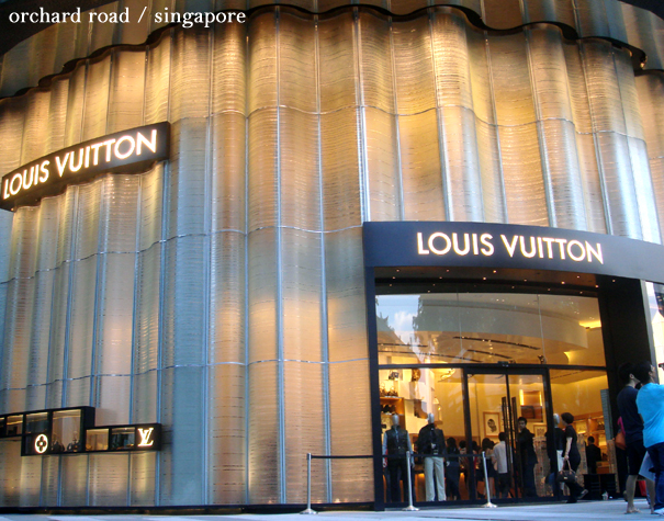wear it like you stole it: louis vuitton in singapore