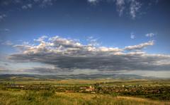 Gradinari (AragianMarko) Tags: mountains clouds europa village hill adobe romania deal acr sat range hdr selo banat balcan carasseverin nikond90 gradinari cacova deprsiune