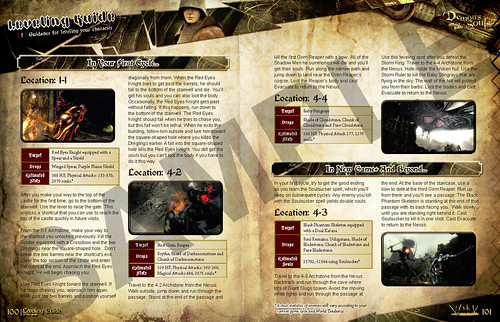 Demon's Souls Strategy Guide Sample