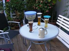 Abend bei Nachbar Erwin (Last Hero) Tags: august bier franken tisch 2009 grillen nachbar s5800 dhlau