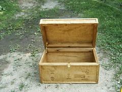 Open Storage Chest (dragonoak) Tags: handcrafted hopechest footlocker storagechest woodchest