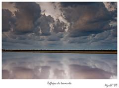 Reflejos de tormenta (Agusbl) Tags: sea sky paisajes naturaleza water landscape agua paisaje salinas ibiza nubes tormenta reflejos reflexes