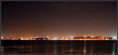 Night Beauty (Vivek Dikshit) Tags: india lake night lightreflection bhopal