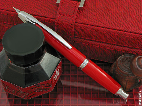 Pilot Namiki Vanishing Point Vivid Red LE