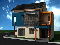 Rumah-Minimalis-Sudut-di Gandul Cinere Depok by Indograha Arsitama Desain & Build