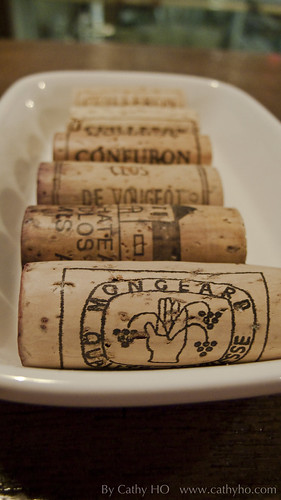 The corks.