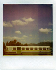 polaroid sx 70 : fantasy of a journey through the clouds (cHr1st1an S images) Tags: sardegna trees sky italy film alberi clouds analog train vintage square landscape polaroid sx70 landscapes flickr heaven nuvole sardinia cielo squareformat analogue expired treno polaroid600 oldtrain analogic polaroidsx70 analogico instantfilm tempiopausania pesaggio filmexpired polaroid600expired polaroidexpired chr1st1ans christiansorrentino