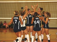 2009 Baker Volleyball