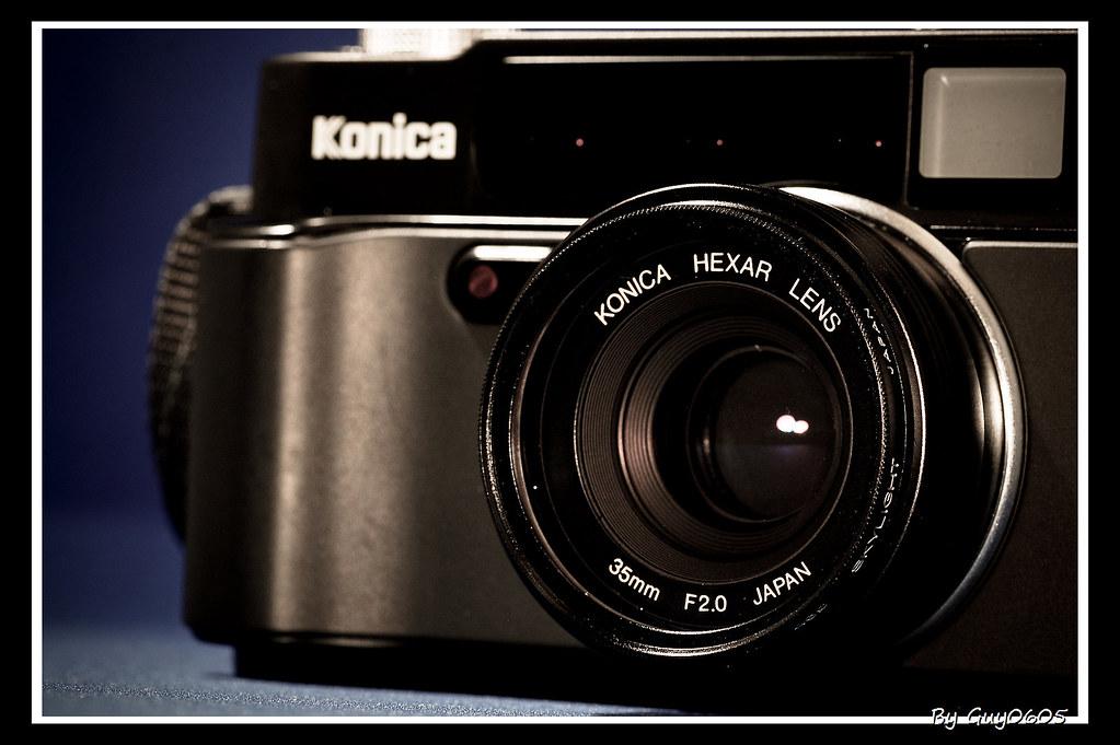新機入手。Konica HEXAR AF (black)。