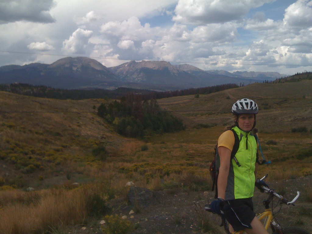 Shaleah and Mountains