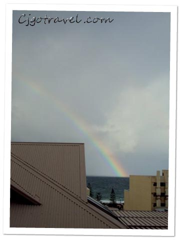Rainbow at Surborough Beach,Perth