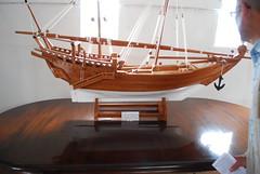Chatham  Royal Dockyard - HMS Gannet Model of Arab Dhow (Le Monde1) Tags: uk sea england water river kent model nikon ship britain military royal sailors chatham arab ropes naval medway dhow gannet tars rn hms dockyard salts d60 lemonde1