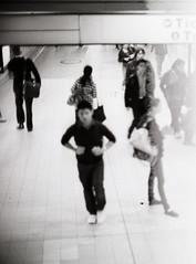 Central Railway Station (Geoff A Roberts) Tags: street leica bw white black film station 35mm lens photography 50mm photo nikon photographer kodak scanner geoff candid central sydney streetphotography fast railway australia rangefinder super f1 f10 x surrey m hills 150 surry plus 100 mp noctilux roberts 135 5000 agfa rodinal coolscan 125 streetphotographer arista 5000ed premuim geoffroberts