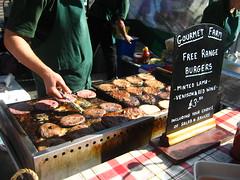Gourmet Farm free range burgers