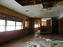 Man, the Service here is just Terrible... ([jonrev]) Tags: urban abandoned rotting out japanese restaurant exploring chinese diner mold oriental exploration carry decaying eatery asbestos