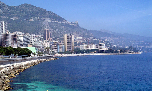 Larvotto Beach, Monaco por lease_d.