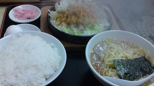 大盛軒:鉄板麺